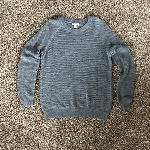 Gray Waffle sweater